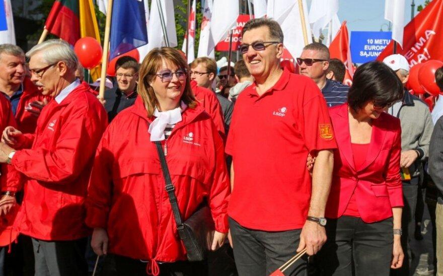V. Blinkevičiūtė pažėrė kritikos dėl Darbo kodekso