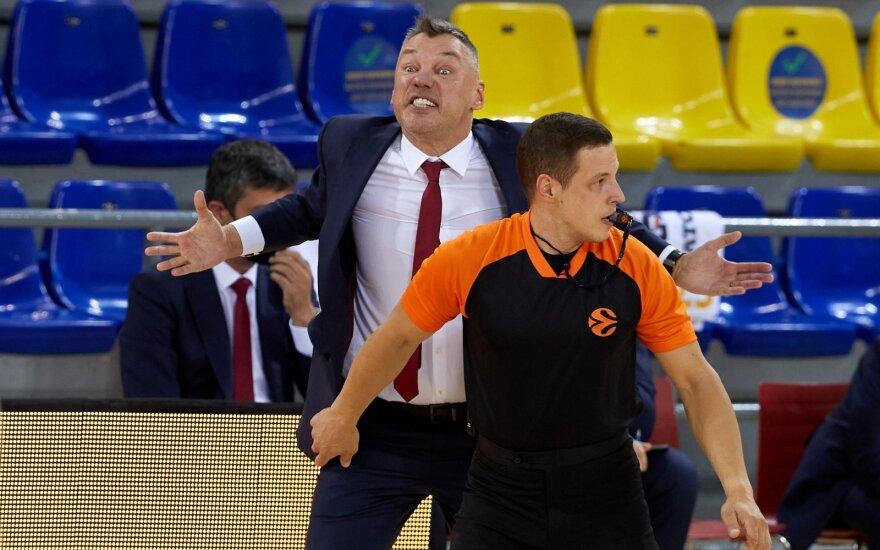 """Du kartus dviženklį deficitą ištirpdžiusi Šaro """"Barca"""" pakilo į antrą vietą Eurolygoje"""