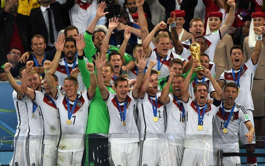 Vokietijos rinktinė tapo pasaulio čempione