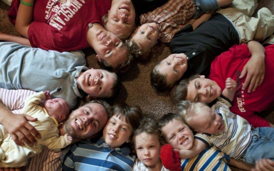 Aktorius V. Mickevičius: labiau reikėtų remti tas šeimas, kurios augina tik vieną vaiką