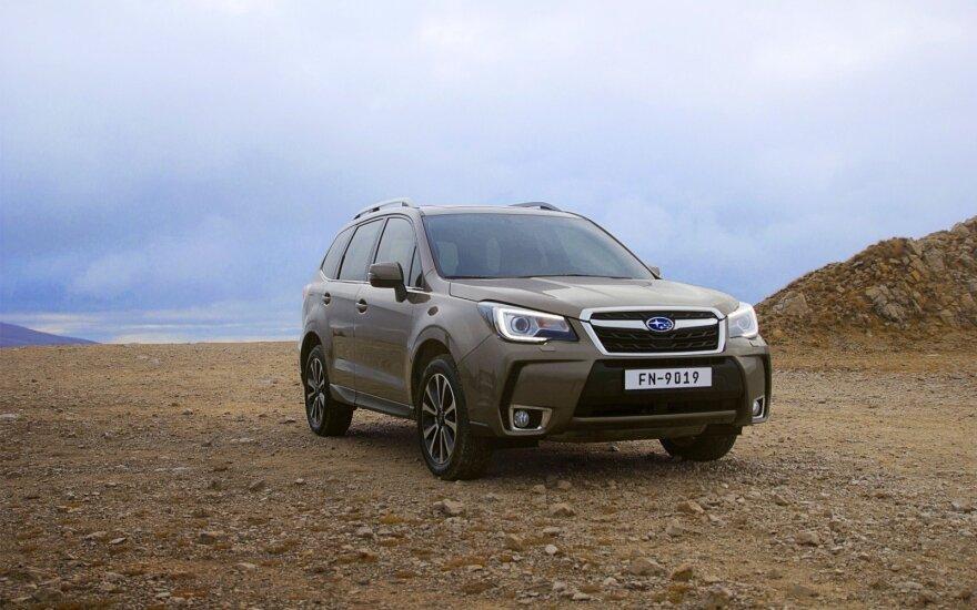 """Atnaujintas """"Subaru Forester"""""""
