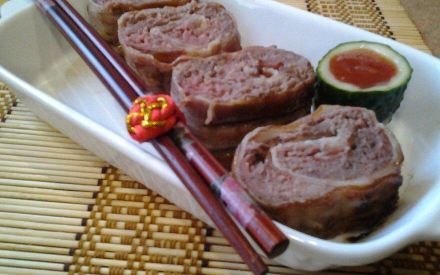 Išmėginkite: mėsos suši