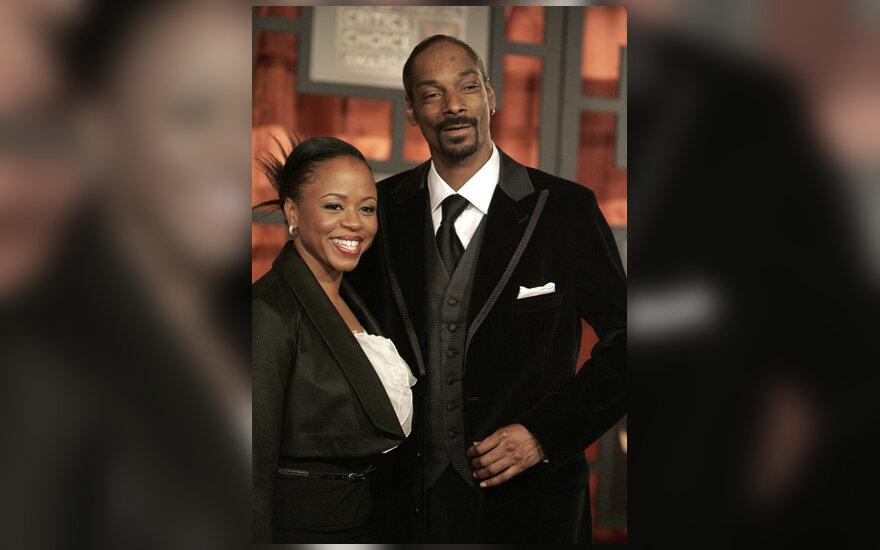 Snoop Doggas su žmona Shante Broadus