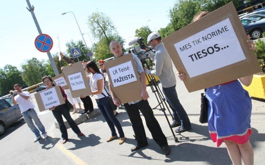 S.Tamkevičius: apgailėtina, kad skaudi šeimos tragedija tampa politinių rietenų tema