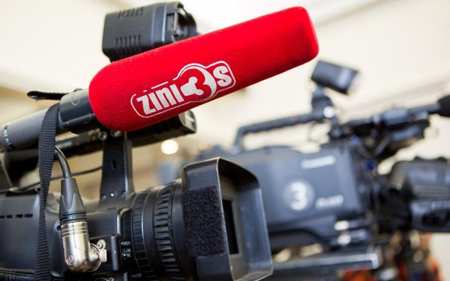 TV3 News camera