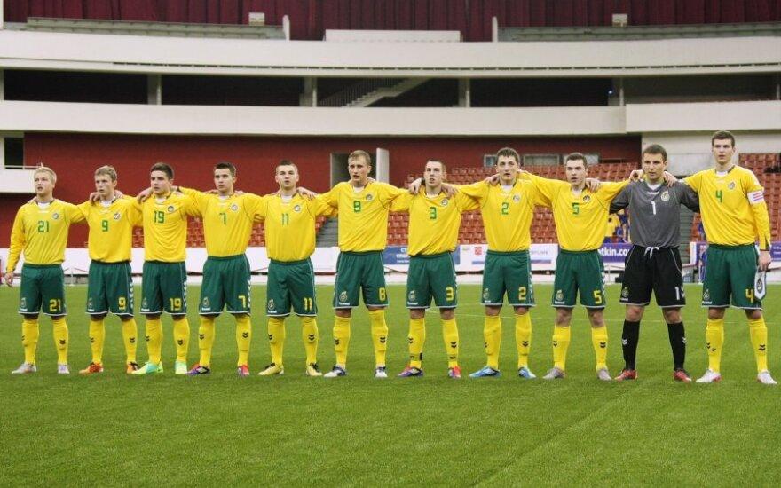 Lietuvos U-18 futbolo rinktinė (Granatkin.com nuotr.)