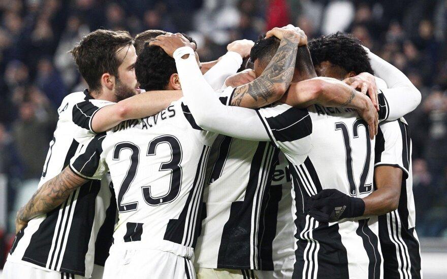 """Turino """"Juventus"""" futbolininkai"""
