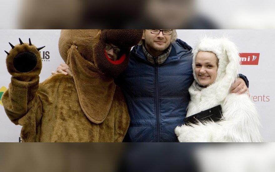 Alfas Ivanauskas ir akcijos talismanai