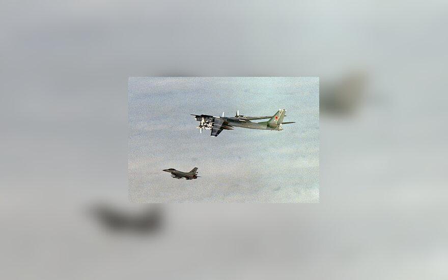 Rusų bombonešio skrydis