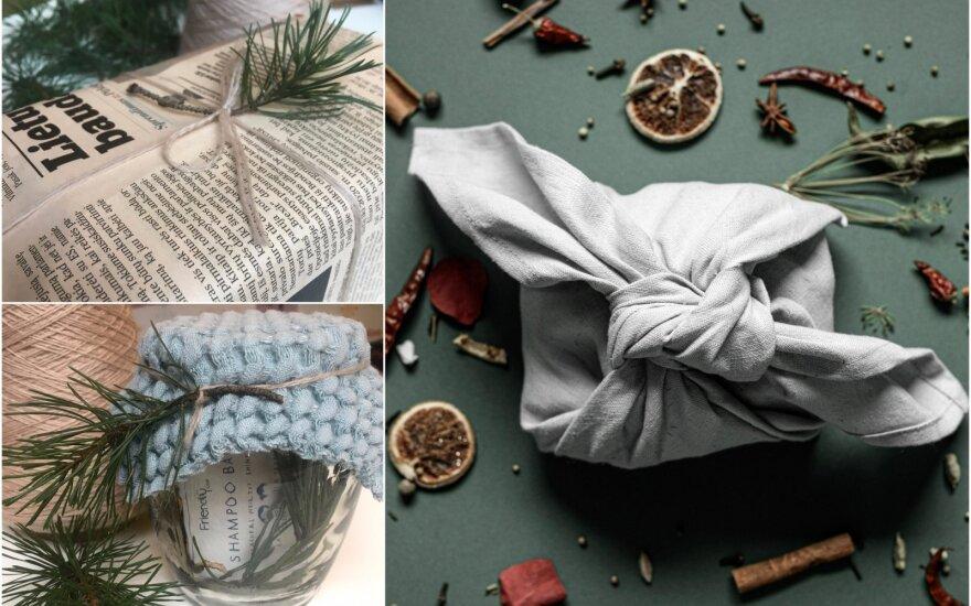 Ekologiškas dovanų pakavimas