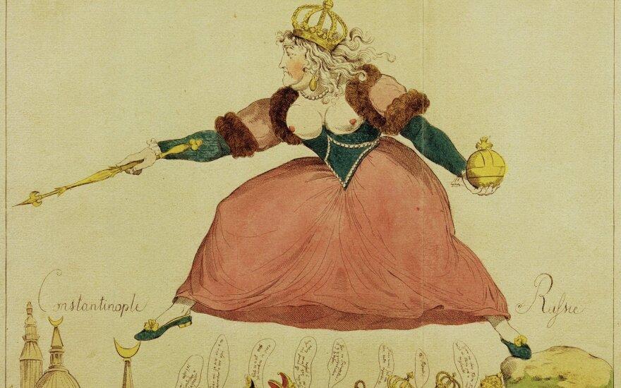 Jekaterinos II karikatūra (1792), akg-images/ scanpix foto