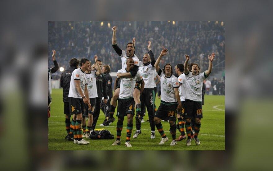 """Werder"" triumfas Vokietijos taurės turnyro finale"