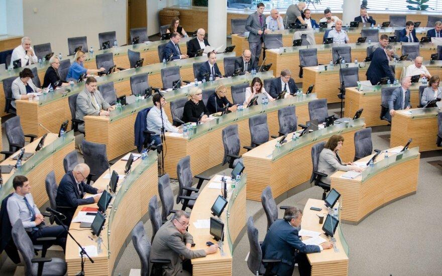 Seimo salėje dėl LRT - audringa diskusija: tai pirmas kartas ES