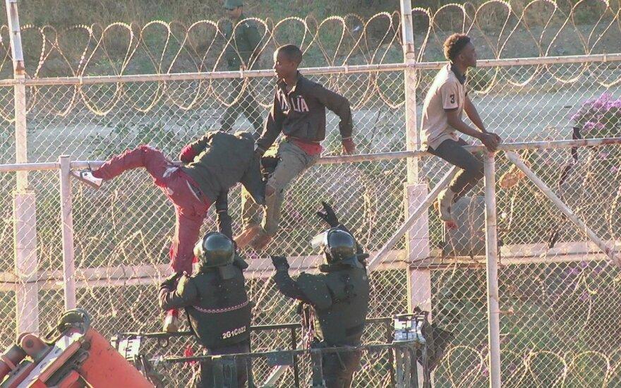Pabėgėliai Seutoje