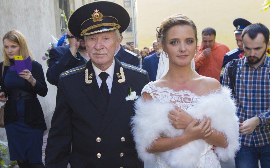 Ivanas Krasko su žmona