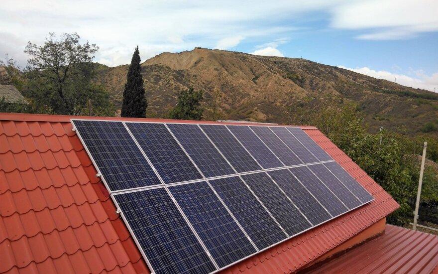 saulės elektrinė Gruzijoje
