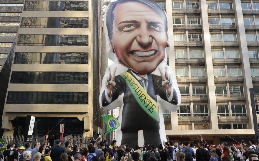 Rinkimai Brazilijoje. Bolsonaro šalininkai