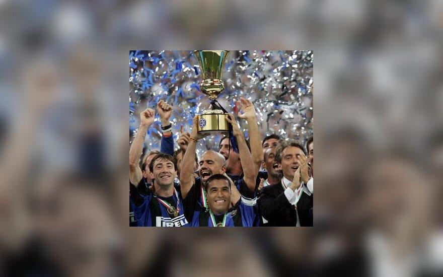 """Milano """"Inter"""" - Italijos futbolo taurės laimėtojai"""