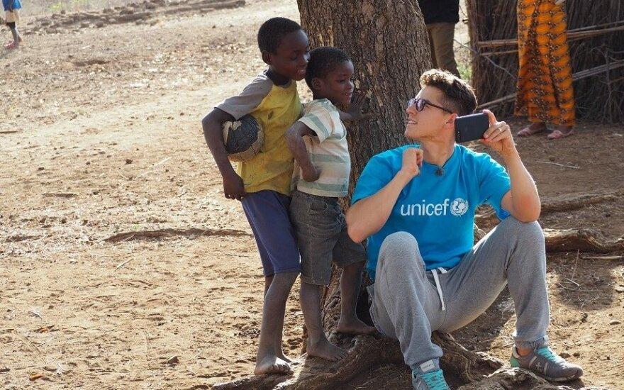 UNICEF Lietuva misijos akimirkos