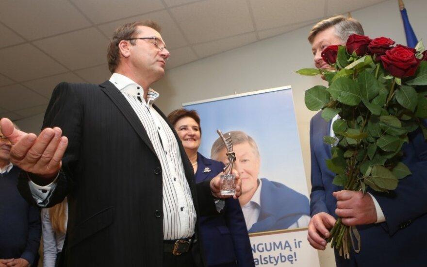 Z. Balčyčiui paramą pažadėjo R. Paksas ir V. Uspaskichas