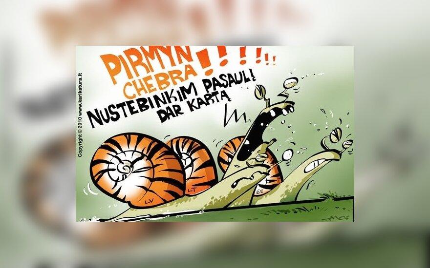 R.Dargis: turime vytis jau net ne Estiją, o Latviją