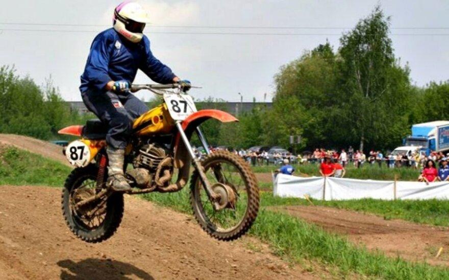 Panevėžyje – retro motociklų varžybos