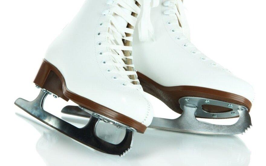 Ledo ritulio sostinėje Elektrėnuose pirmą kartą surengtos dailiojo čiuožimo varžybos