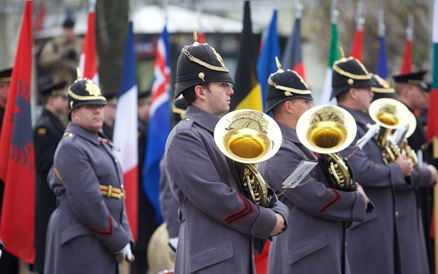 Lithuania commemorated army day