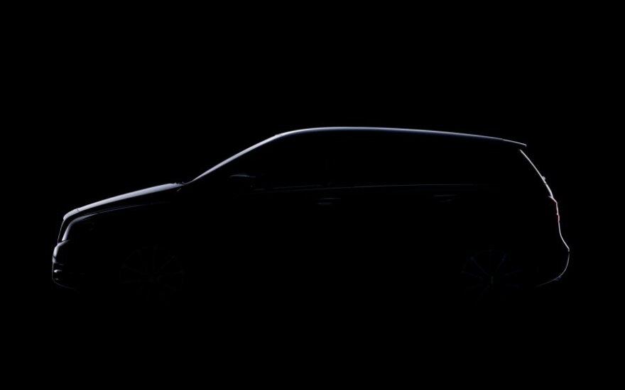 Pirmoji Mercedes-Benz B-klasės užuomina