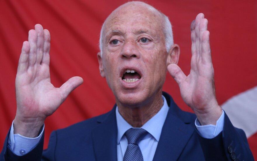 Kandidatas į Tuniso prezidentus liks kalėjime, sako advokatas