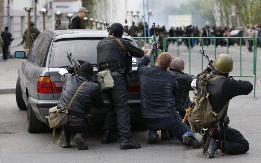 Ukraina: separatistai įsisiautėjo