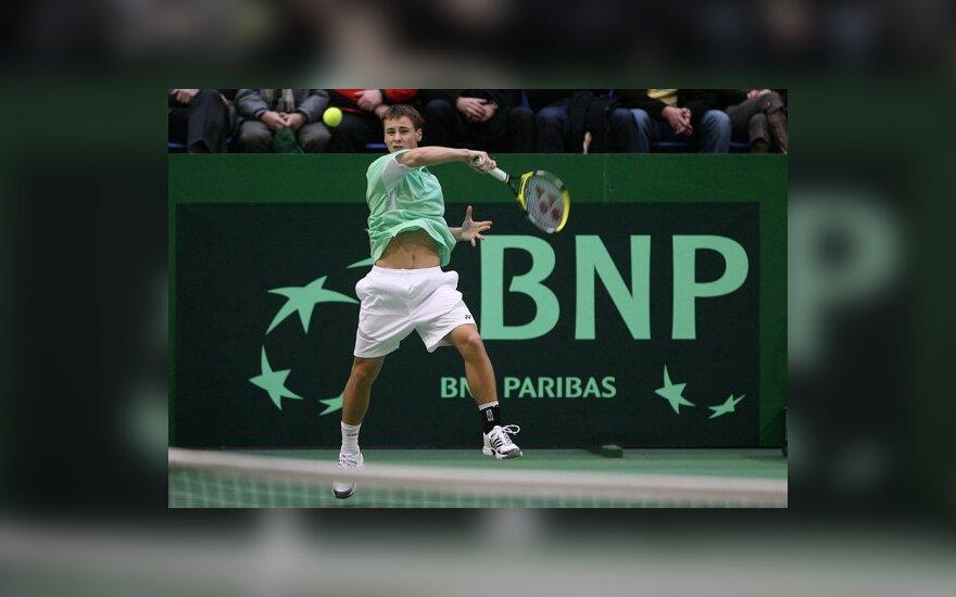 """R.Berankis - pagrindiniame """"Challenge Tour"""" serijos teniso turnyre Uzbekistane"""