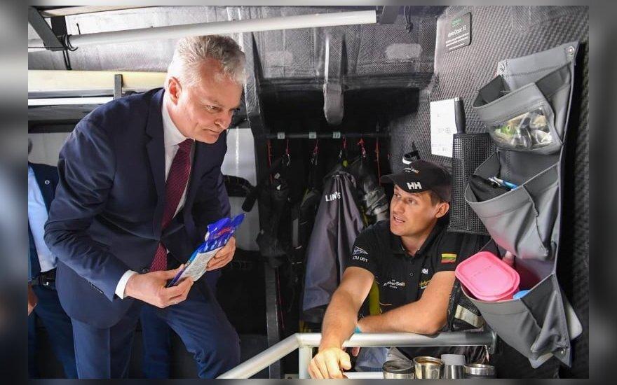 Nausėda Birštone su Kauno regiono merais aptars laivybą Nemune