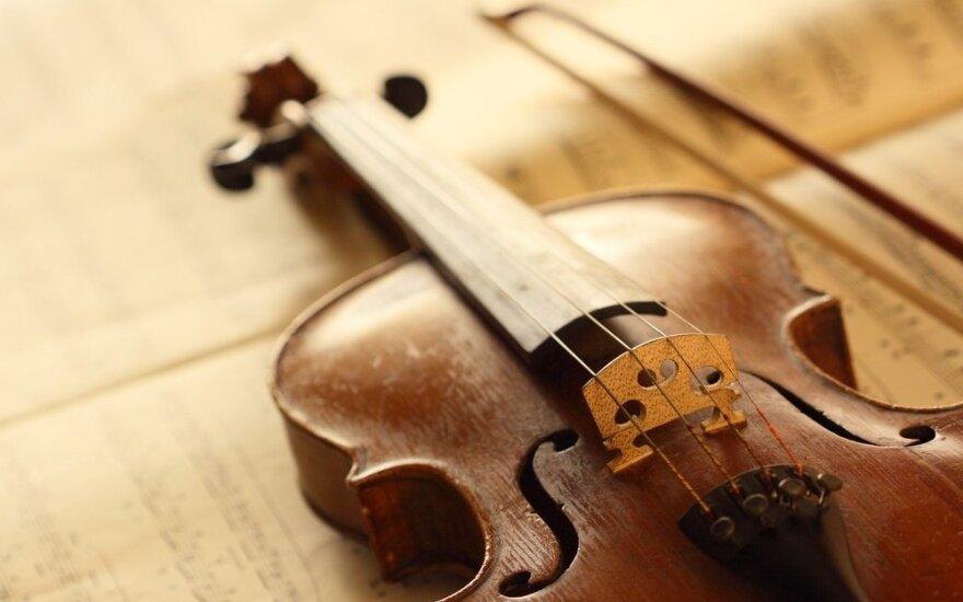 Ar žinote, kad smuiką kadaise buvo galima įsidėti į kišenę
