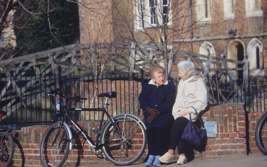 Pensininkai Anglijoje
