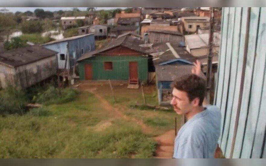 Lietuvio nuotykiai Amazonės džiunglėse: iš arti pamatė favelas (V)