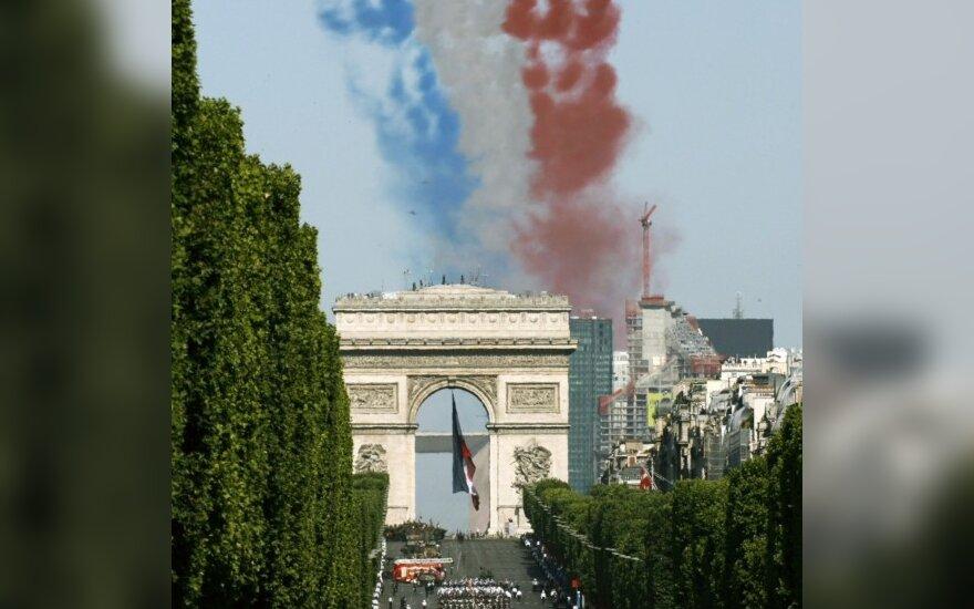 Prancūzijoje švenčiama Bastilijos užėmimo diena