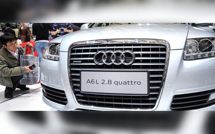 """""""Audi"""" pranešė apie geriausio istorijoje ketvirčio rezultatus"""
