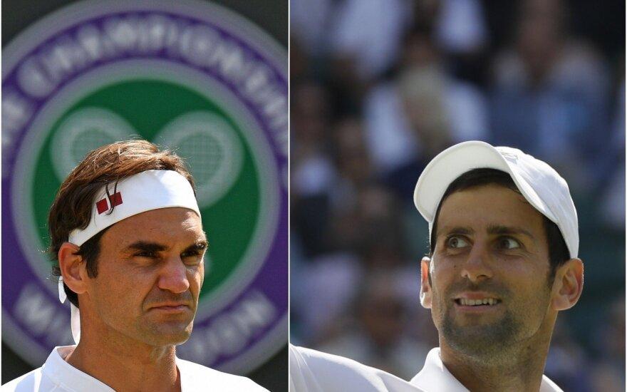 Rogeris Federeris, Novakas Djokovičius