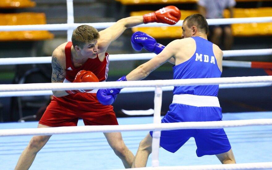 Prasidėjo Algirdo Šociko tarptautinis bokso turnyras