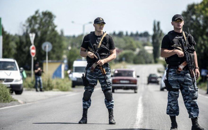Pasieniečiai: teroristai apšaudo Rusijos teritoriją, kad apjuodintų Ukrainą