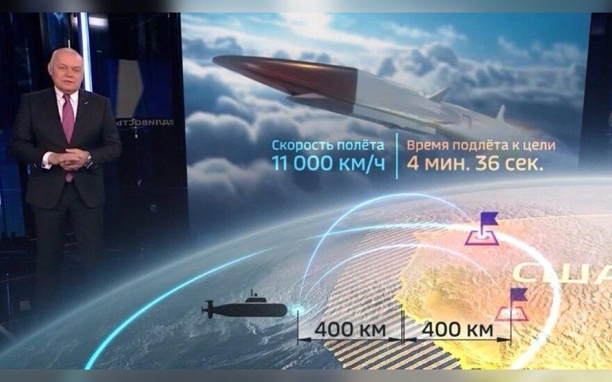 """""""Мокрого места не останется"""". Российские телеканалы показали, куда надо нацелить ракеты, о которых говорил Путин"""