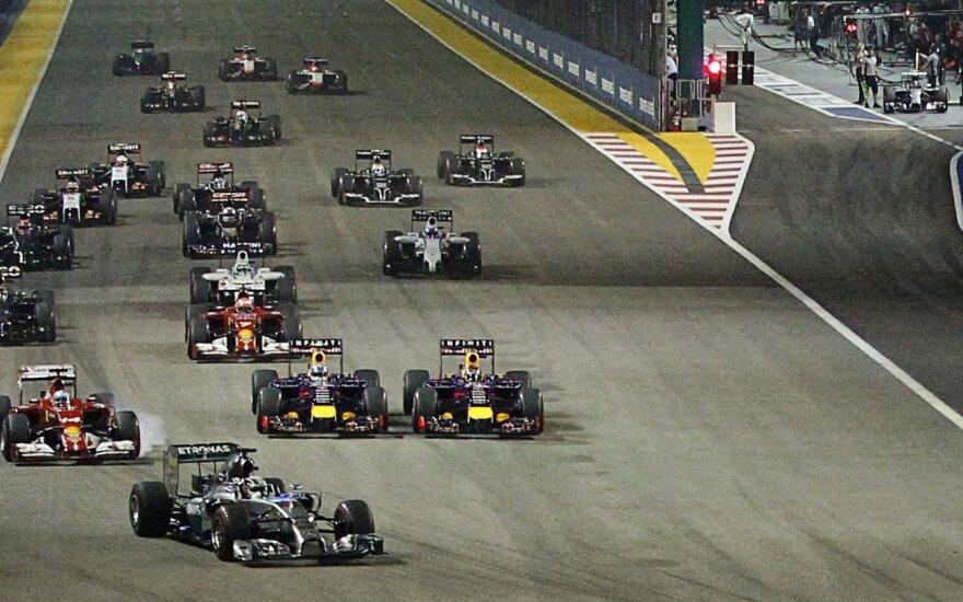"""Formulės-1"" etapas Singapūre"