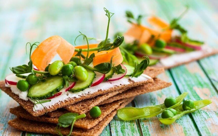 Dietologų rekomenduojamas duoniukų receptas be miltų patiks visiems
