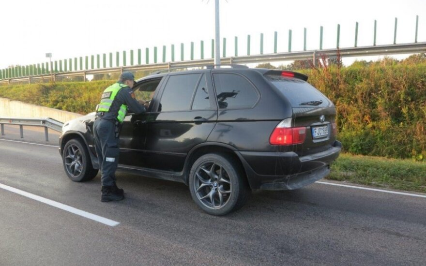 Policijos reidas ties Antkopčiu