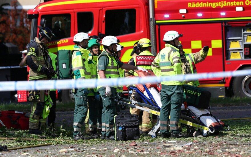 Švedijoje – galingas sprogimas, sužeisti apie 25 žmonės