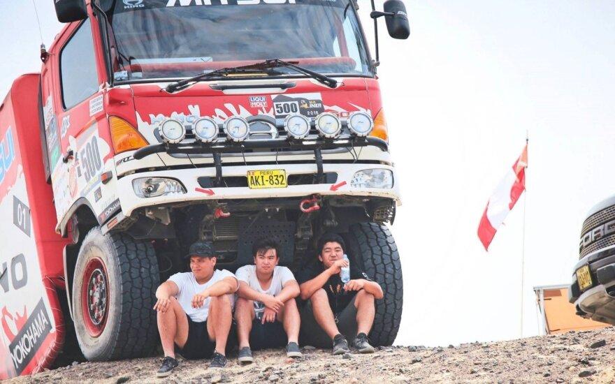 Dakaro ralyje pavėsis – prabangos dalykas