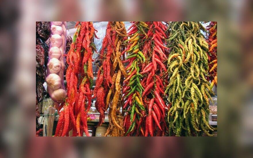 Barselonos turgaus gėrybės