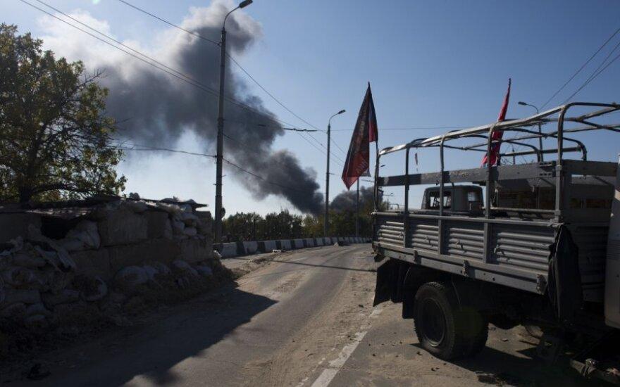 Mūšiai Ukrainoje nepasibaigė