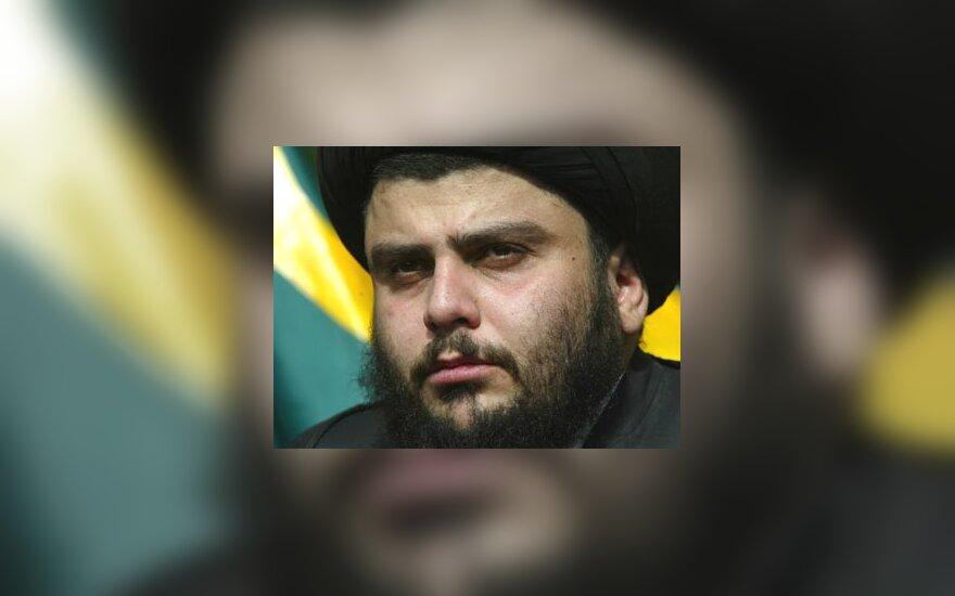 Šiitų dvasininkas Moqtada al Sadras